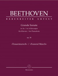 """Beethoven: Piano Sonata in A flat major, op. 26 """"Funeral March"""""""