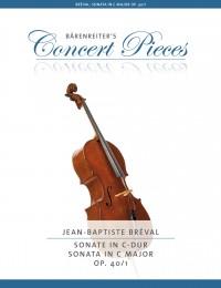 Bréval: Sonata in C major, op. 40/1