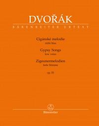 Dvorák, Antonín: Gypsy Songs for Voice and Piano op. 55