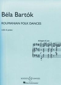 Bartok, B: Roumanian Folk Dances