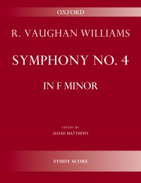 Vaughan Williams: Symphony No. 4 (Study Score)