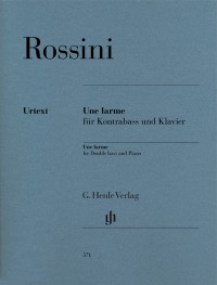Gioachino Rossini: Une Larme for Double bass and Piano