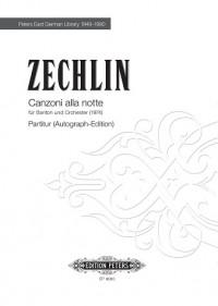 Zechlin, Ruth: Canzoni alla Notte