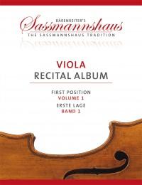 Sassmannshaus Viola Recital Album, Volume 1