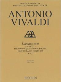 Antonio Vivaldi: Laetatus sum RV 827