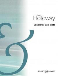 Holloway, R: Sonata for Solo Viola op. 87