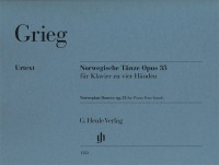 Grieg: Norwegian Dances, op. 35 (piano duet)