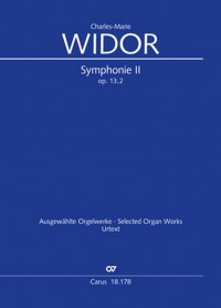 Widor: Organ Symphony No. 2 in D major, op. 13 No. 2