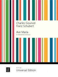 Schubert/Gounod: Ave Maria (treble recorder and piano)