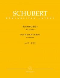 Schubert: Piano Sonata in G major, op. 78 D894
