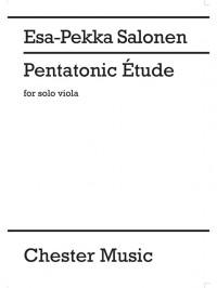 Esa-Pekka Salonen: Pentatonic Etude For Solo Viola