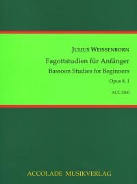 Julius Weissenborn: Fagott-Studien Für Anfänger Op. 8, 1