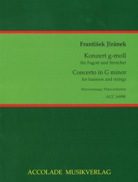 Frantisek Jiranek: Konzert G-Moll