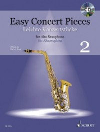 Easy Concert Pieces for Alto Saxophone - Volume 2