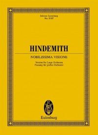 Hindemith: Nobilissima Visione (Study Score)