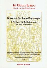 Giovanni Girolamo Kapsperger: I Pastori di Bettelemme (Die Hirten von Bethlehem)