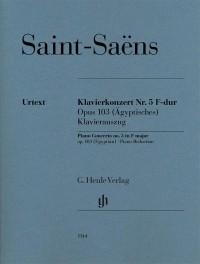 Saint-Saëns, C: Piano Concerto no. 5 (Egyptian) op. 103