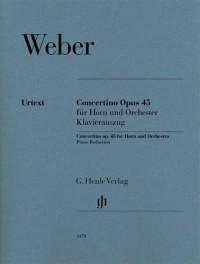 Weber: Concertino for Horn, Op. 45