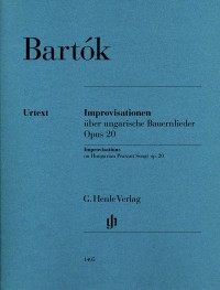 Bartók: Improvisations on Hungarian Peasant Songs, op. 20