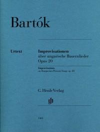 Bartok, B: Improvisations on Hungarian Peasant Songs op. 20