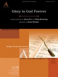 David Winkler: Glory To God Forever