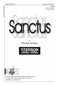 Randall Johnson: Sanctus