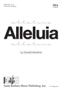 Donald Kendrick: Alleluia
