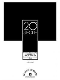 Dmitri Kabalevsky: Concerto Pour Violon Et Orchestre, Op.48
