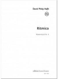 Hefti, David Philip: Ritmico - Klavierstück Nr. 4