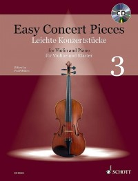 Easy Concert Pieces Volume 3