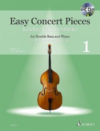 Easy Concert Pieces for Double Bass and Piano Volume 1