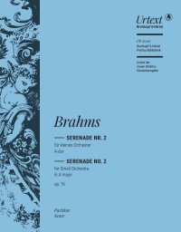 Brahms: Serenade No. 2 in A major, Op. 16 (Full Score)