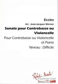 Jean Jacques Werner: Sonate Pour Contrebasse