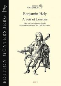 Benjamin Hely: A Sett Of Lessons