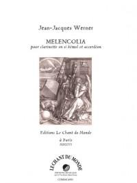 Jean-Jacques Werner: Melencolia