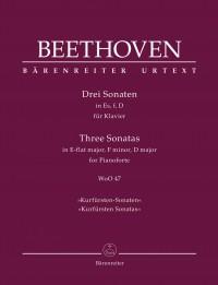 """Beethoven: Three Piano Sonatas, WoO 47 """"Kurfürsten Sonatas"""""""