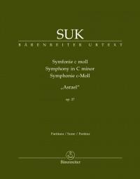 "Suk: Symphony in C minor op. 27 ""Asrael"" (Full Score)"