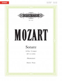 Mozart, Wolfgang Amadeus: Sonata for Piano in A major K331 (300i)