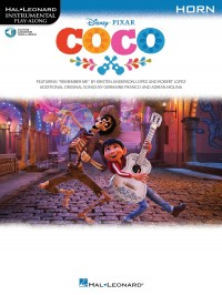Disney Pixar's Coco: Instrumental Play-Along For French Horn (Book/Audio)