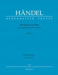 Händel, Georg Friedrich: Parnasso in festa per gli sponsali di Teti e Peleo HWV 73