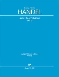 Handel: Judas Maccabaeus (Full Score)