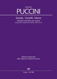 Puccini: Selected Organ Works