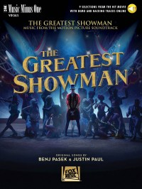 Music Minus One: The Greatest Showman (Book/Online Audio)