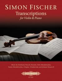 Simon Fischer: Transcriptions for Violin & Piano