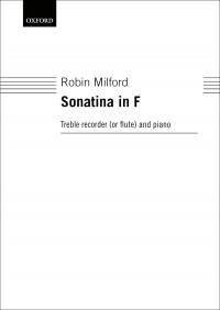Milford: Sonatina in F
