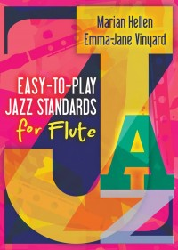 Easy-to-play Jazz Standards for Flute