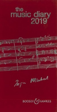 Music Diary 2019 (Red)