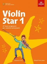 Violin Star 1 (Italiano): Libro dello studente