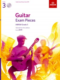 ABRSM: Guitar Exam Pieces from 2019, ABRSM Grade 3, with CD