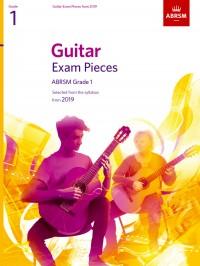 ABRSM: Guitar Exam Pieces from 2019, ABRSM Grade 1